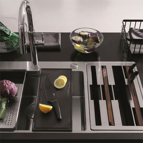 Win a Franke Box Center sink and accessories worth £1400