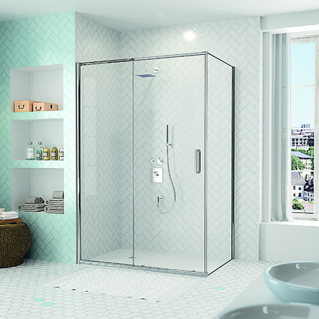 Win a Merlyn sliding-door shower enclosure and tray worth £2600